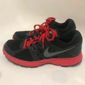 Nike Relentless 2 Black Red Sneakers Shoes 11.5
